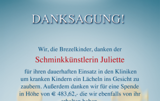 Brezelkinder Juliette Spende